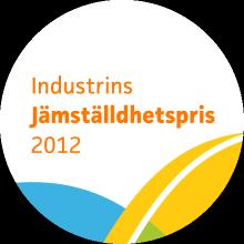 Industrins Jämställdhetspris logotyp