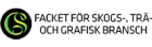 GS Facket för skogs-, trä- och grafisk bransch logotyp